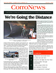 CorroNews - We're Going the Distance Article